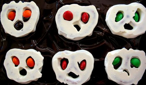 Quick Ghoulish Brownies Recipe