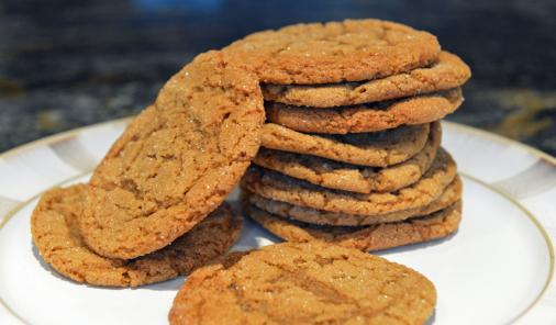 gingersnap cookie tower