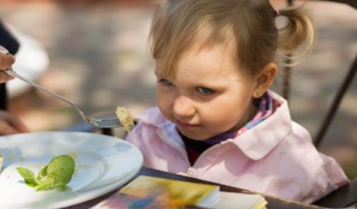 refusing to eat meals with family