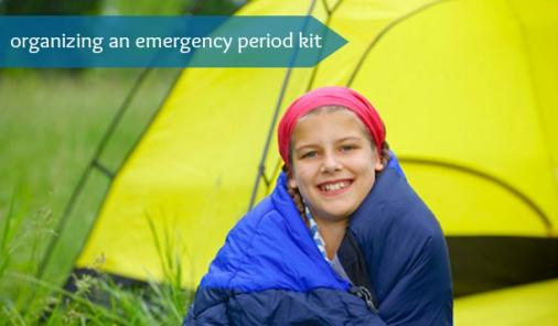 How To Organize An Emergency Period Kit Before Camp