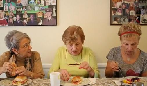 grandmas reading beyonce lyrics