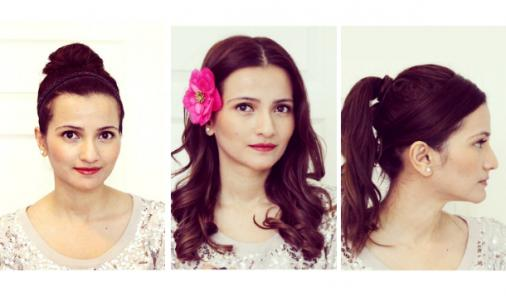 3 Simple, Quick, and Fun Holiday Hairstyles