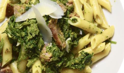 Sausage and Rapini Pasta - aclassic Italian recipe favorite everyone will love. | YMCFood | YummyMummyClub.ca