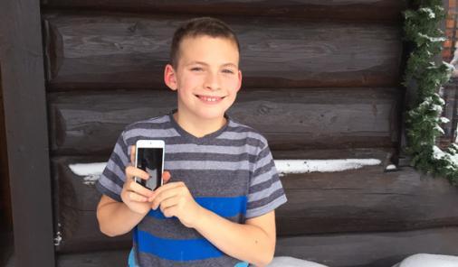 Nathan and the iPod