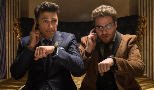James Franco and Seth Rogen in The Interview