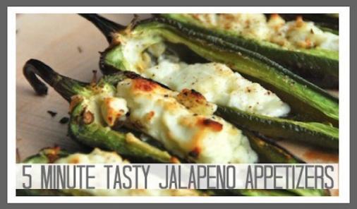 BBQ'd Jalapeno Appetizers