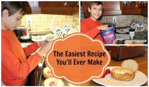 Kraft Cheesy Egg In A Bowl Recipe