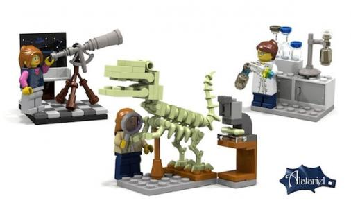 lego girl scientists