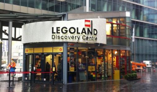 Legoland Discovery Centre Entrance