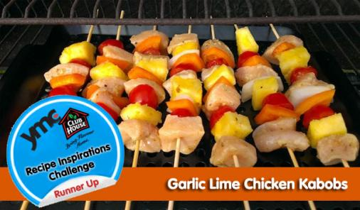 Garlic Lime Chicken Kabobs Recipe
