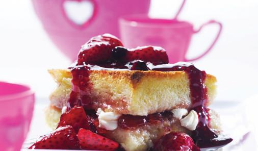 Strawberry French Toast Souffle Recipe