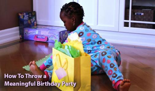 How To Make Your Child's Birthday Party More Meaningful