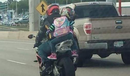 Children as passengers on motorcycles   YummyMummyClub.ca