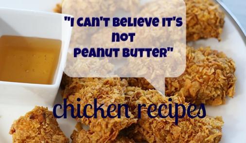 can't believe it's not peanut butter chicken recipes