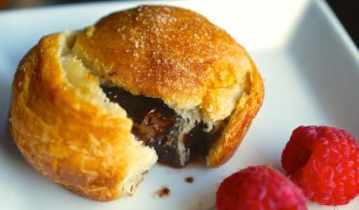 Nutella Raspberry Crescent Rolls