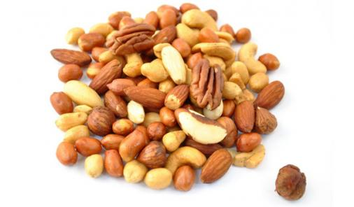 pile of nuts