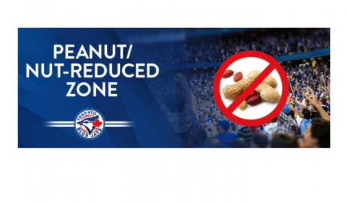 Blue Jays Peanut/Nut Reduced Zone