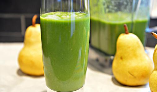 green_pear_smoothie