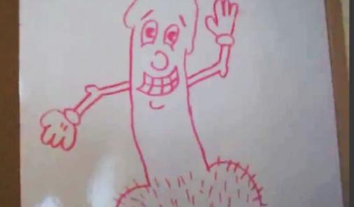 Penis drawing