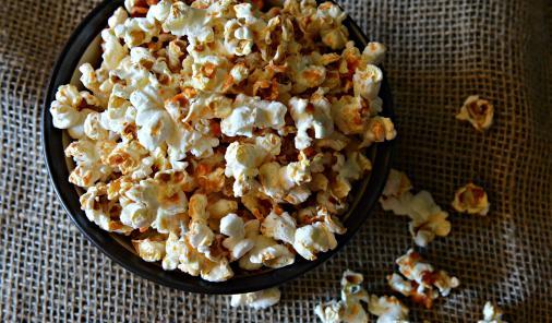 ketchup chip popcorn