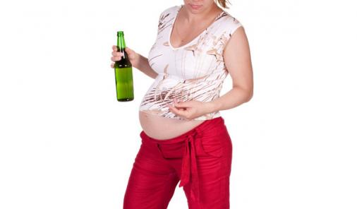 pregnant and drinking