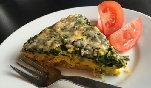 quinoa-quiche