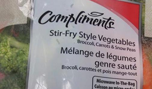 stir fry veggie recall
