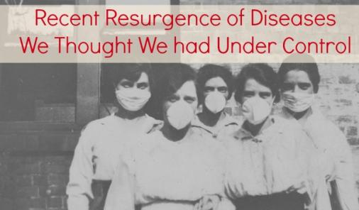The Resurgence Of Diseases We Thought We Had Under Control