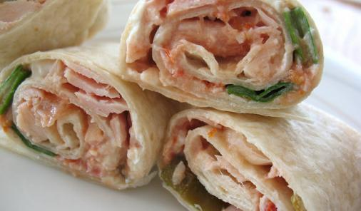 Salsa Tuna Roll Ups Recipe