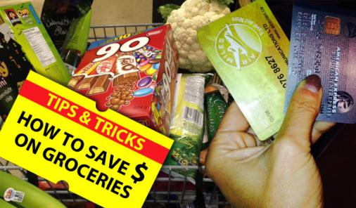 save money on groceries at the supermarket