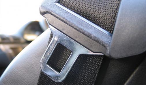 seatbelt on bus