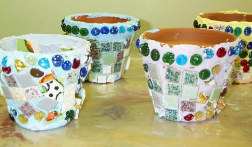 Learn how to start seeds in your kitchen and how to upcycle terracotta pots.