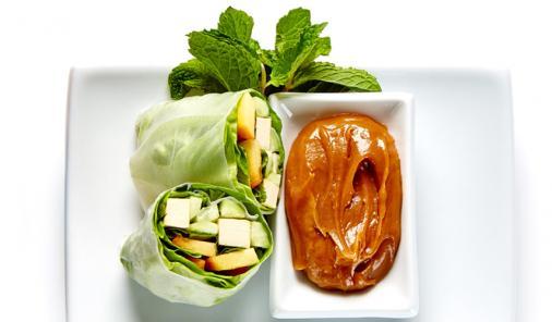 Easy Wrap Salad Rolls