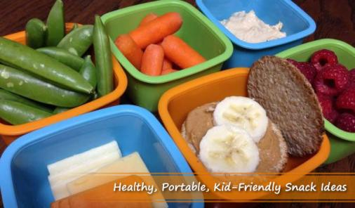 6 Healthy, Portable Snacks For Families On-The-Go