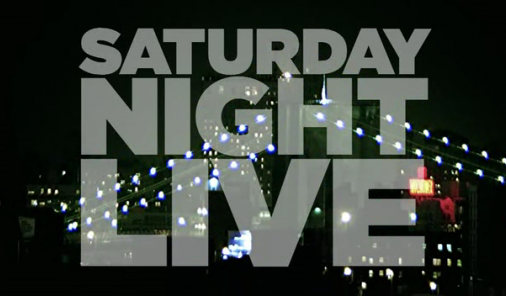 Saturday Night Live title logo