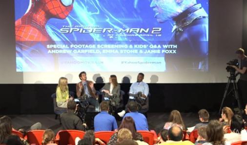 spiderman interview