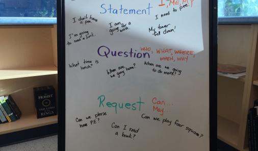 Statement, Question, or Request: Teaching Kids How to Ask For Help