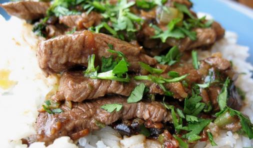 Steak And Black Bean Sauce Recipe