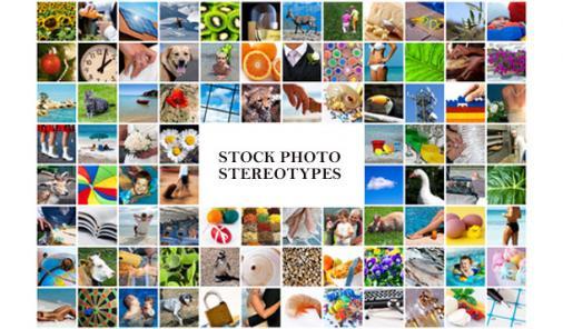 stock photo stereotypes