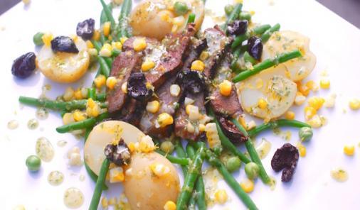 summer steak salad