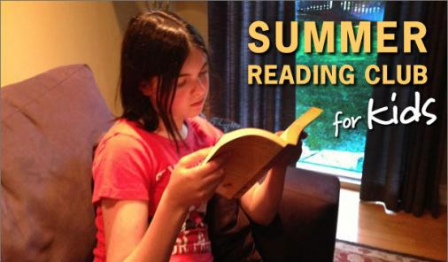Encourage Your Kids to Read This Summer