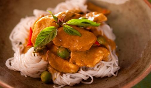 Thai Peanut Chicken Thighs Recipe