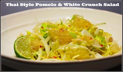 Thai Style Pomelo and White Crunch Salad