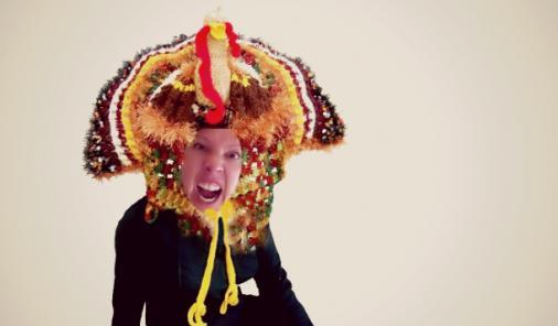angry woman at thanksgiving