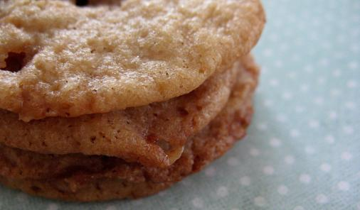 Chewy Toffee Cookies Recipe