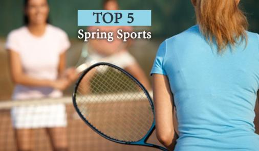 top 5 spring sports