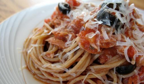 Tuna and Tomato Pasta Sauce Recipe
