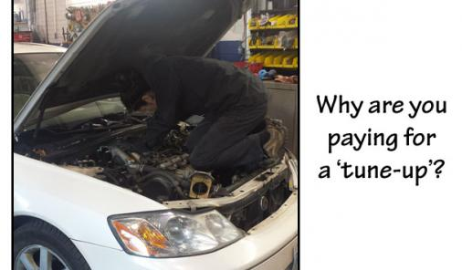 Getting a tune up for your car