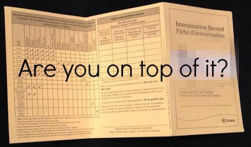 immunization document