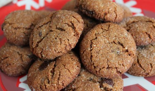 vegan, gluten free gingerbread cookies